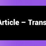 Blog Article - Translation